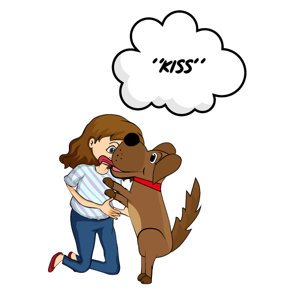 How to Teach Your Dog to Kiss